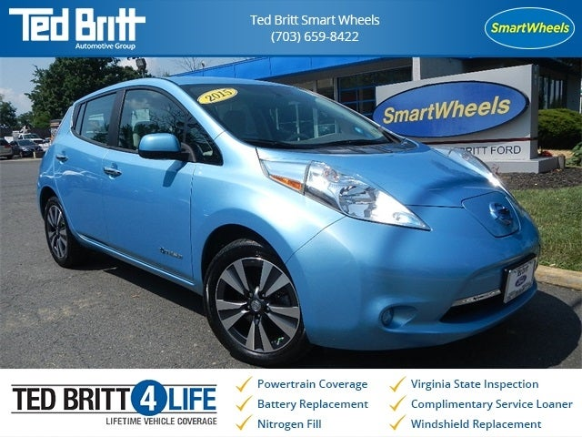 2015 Nissan LEAF SV Push Button Start Touch Screen Heated Seats Electr In  Chantilly, VA